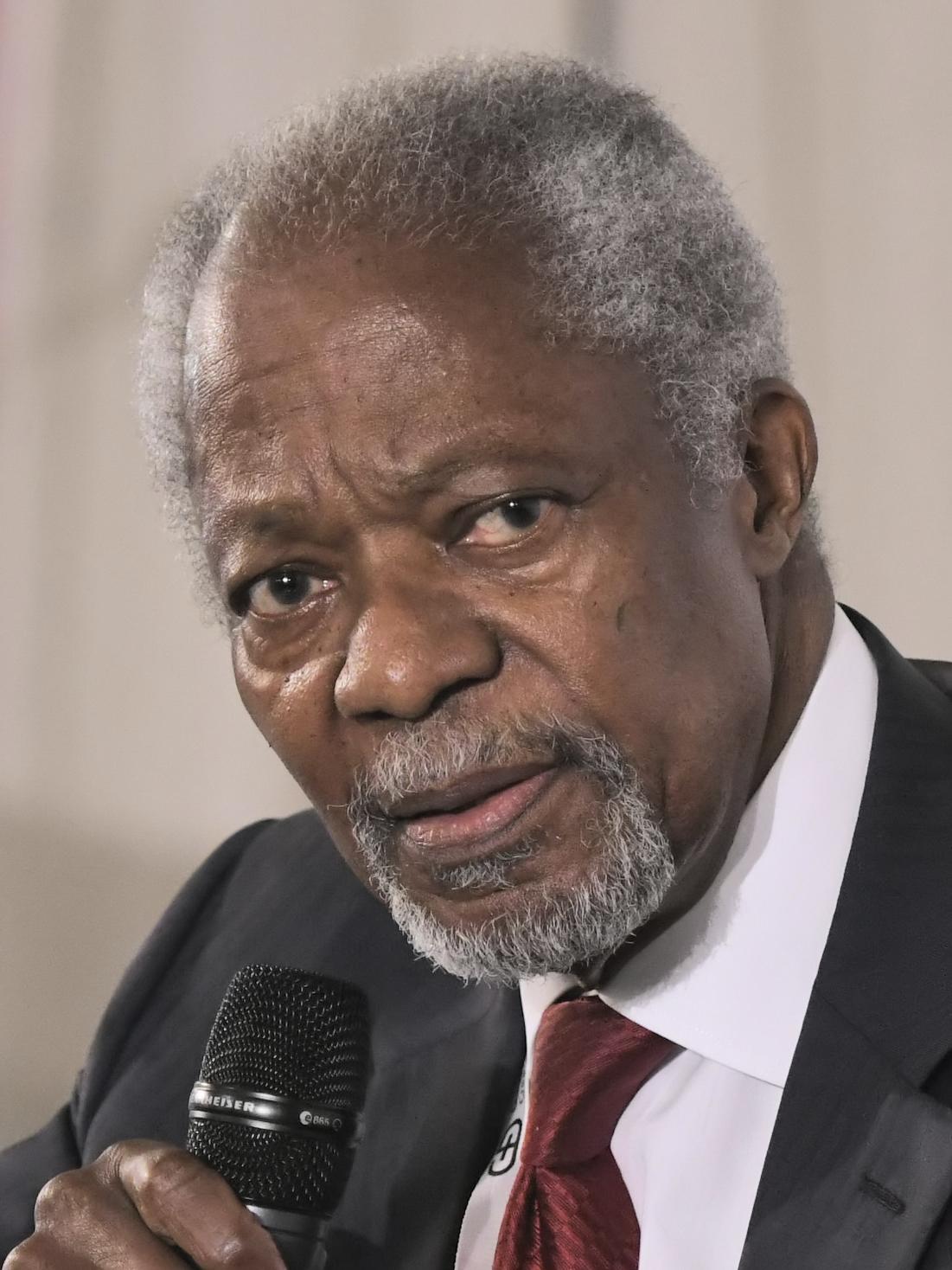 Kofi Annan (2018)